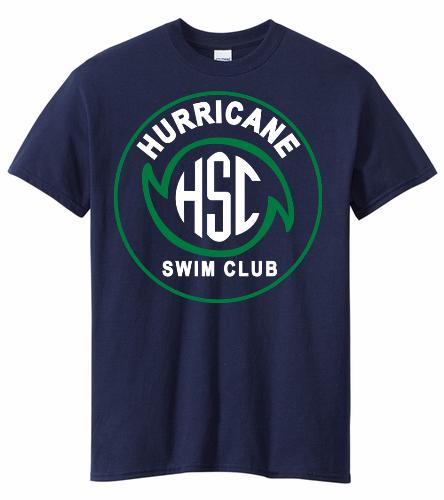 HSC Navy Tee - Heavy Cotton Adult T-Shirt