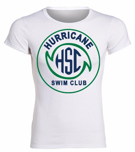 HSC White Lady's Shirt -  Heavy Cotton Missy Fit T-Shirt