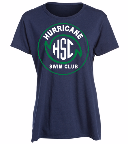 HSC Lady's Navy Tee -  Heavy Cotton Missy Fit T-Shirt