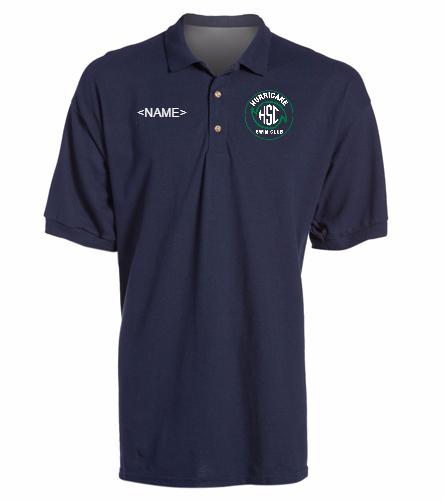 HSC Navy Polo -  Ultra Cotton Adult Pique Sport Shirt