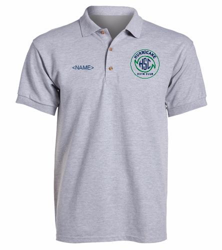HSC Grey Polo -  Ultra Cotton Adult Pique Sport Shirt