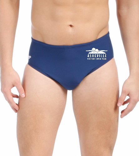 Asheville Masters Swimming - Speedo Solid Endurance Brief Swimsuit