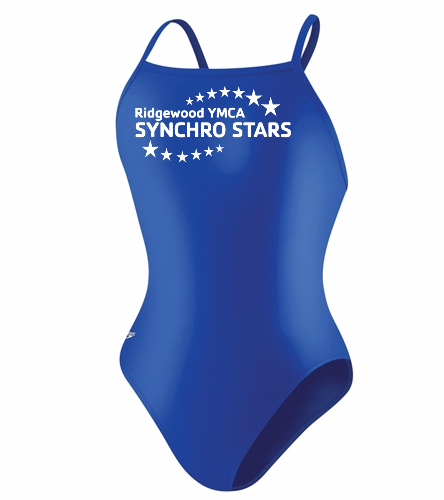 Youth Team suit - Speedo PowerFLEX Eco Solid Flyback Youth Swimsuit