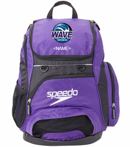 Wave Purple - Speedo Large 35L Teamster Backpack
