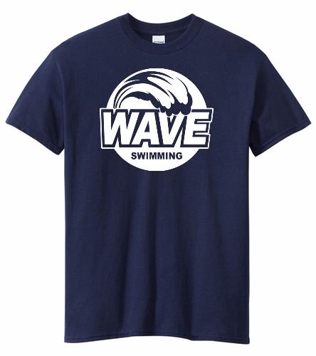 Wave Blue - Heavy Cotton Adult T-Shirt