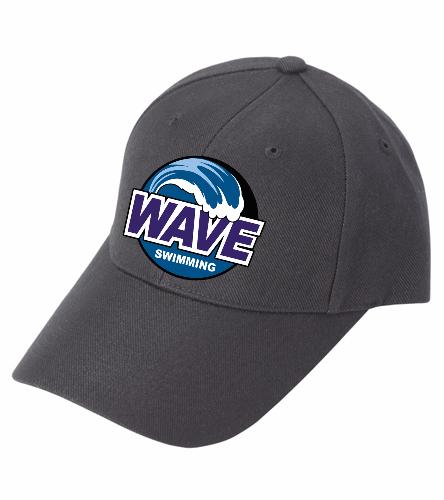 Wave Black - SwimOutlet Custom Cotton Twill Cap