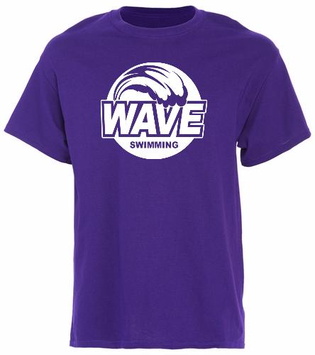 Purple -  Cotton T-Shirt - Brights