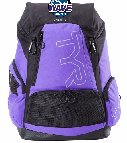Wave purple black - TYR Alliance 45L Backpack