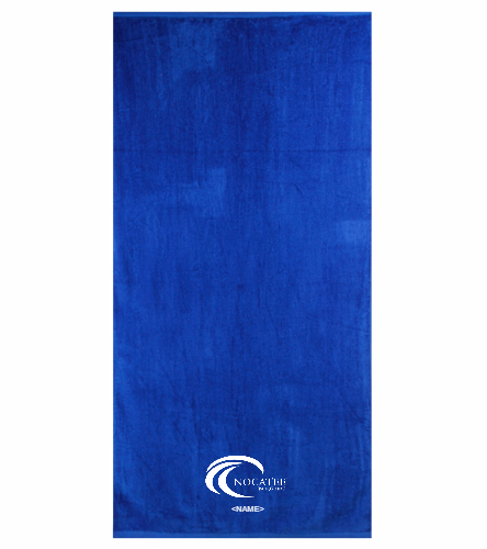 Nocatee - Royal Comfort Terry Velour Beach Towel 32 X 64