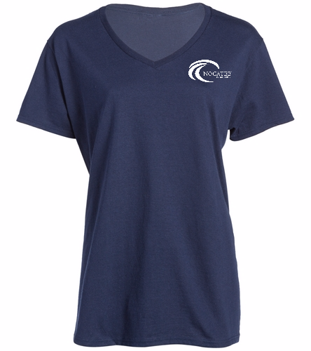 Nocatee - SwimOutlet Women's Cotton V-Neck T-Shirt
