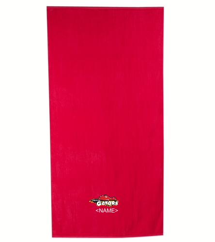 Alternate towel - Royal Comfort Terry Velour Beach Towel 32 X 64