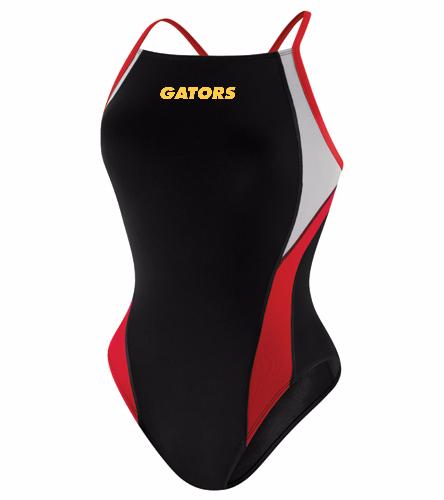 ALGA Gators - Speedo Launch Splice Endurance + Cross Back Swimsuit