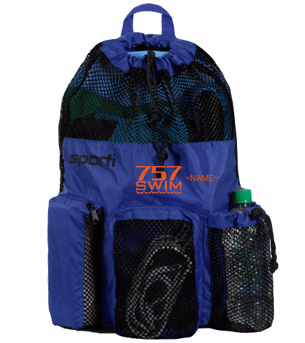 757 - Sporti Equipment Mesh Backpack