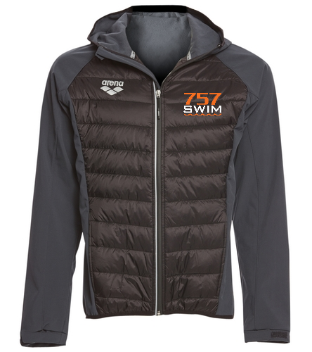 757 Swim - Arena Unisex Team Line Quilted Soft Shell Jacket