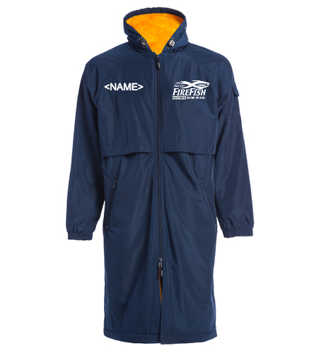 FireFish Masters Parka - Sporti Comfort Fleece-Lined Swim Parka