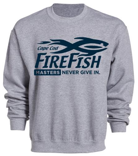 FireFish Masters Crewneck  - SwimOutlet Heavy Blend Unisex Adult Crewneck Sweatshirt