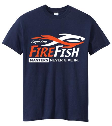 FireFish Masters T-Shirt - SwimOutlet Unisex Cotton Crew Neck T-Shirt