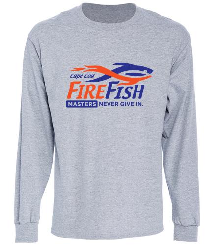 FireFish Long sleeve t-shirt - SwimOutlet Cotton Unisex Long Sleeve T-Shirt