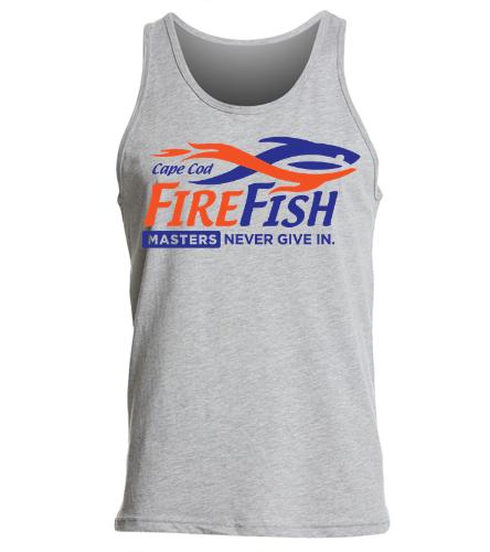 FireFish Masters Unisex Tank - SwimOutlet Unisex Jersey Tank