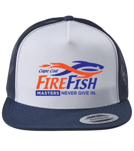 FireFish Masters Trucker Hat - Swimoutlet Classic Mesh Trucker Hat