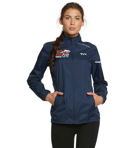 FireFish Masters Women's Windbreaker - TYR Women's Alliance Windbreaker Jacket