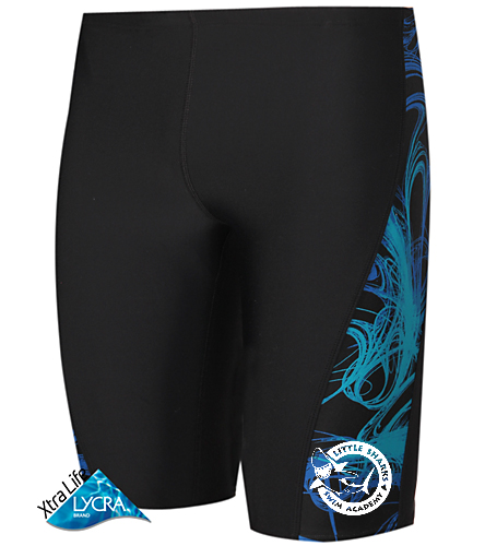 Little Sharks Jammers - Sporti Light Wave Piped Splice Jammer Swimsuit