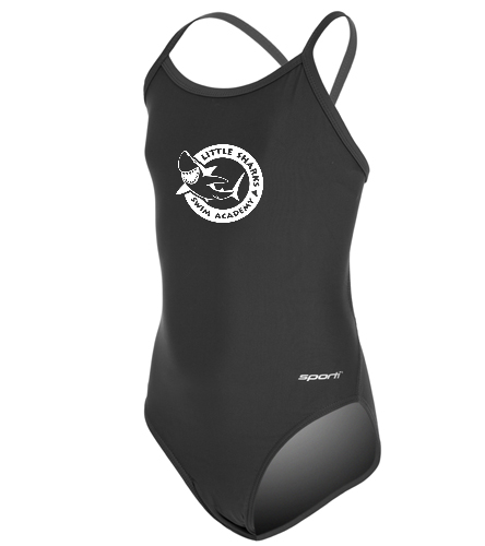 Thin Strap Youth - Sporti Solid Thin Strap One Piece Swimsuit Youth (22-28)