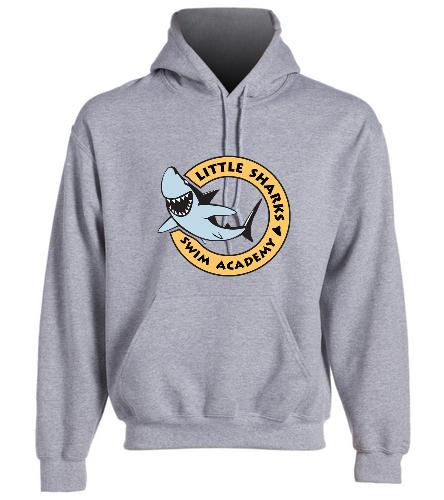 Little Sharks  - SwimOutlet Heavy Blend Unisex Adult Hooded Sweatshirt