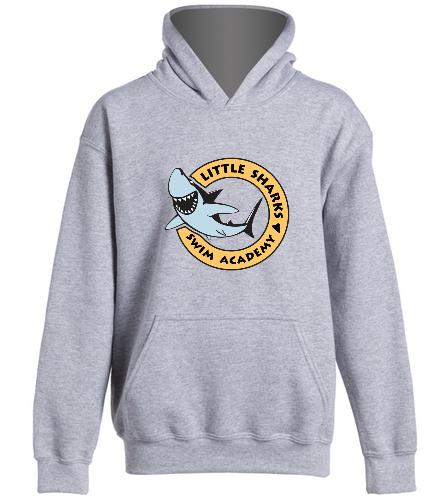 Little Sharks  - SwimOutlet Youth Heavy Blend Hooded Sweatshirt
