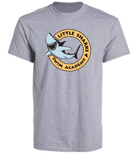 Little Sharks - SwimOutlet Unisex Cotton Crew Neck T-Shirt