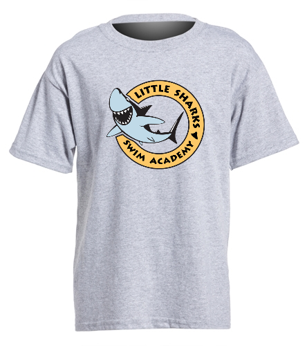 Little Sharks - SwimOutlet Youth Cotton Crew Neck T-Shirt