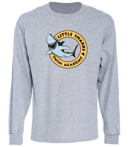 Little Sharks - SwimOutlet Cotton Unisex Long Sleeve T-Shirt
