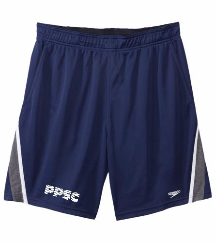PPSC Navy - Speedo Men's Splice Team Short