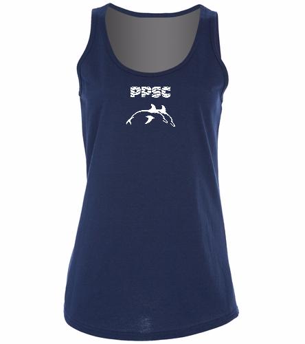 PPSC -  Ladies 5.4-oz 100% Cotton Tank Top