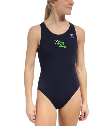 team suit_female_thick strap - TYR Durafast Solid Maxfit One Piece Swimsuit