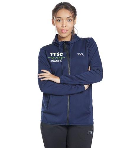 TTSC  - TYR Women's Team Full Zip Hoodie