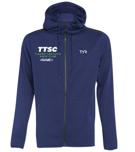 TTSC  - TYR Men's Team Full Zip Hoodie