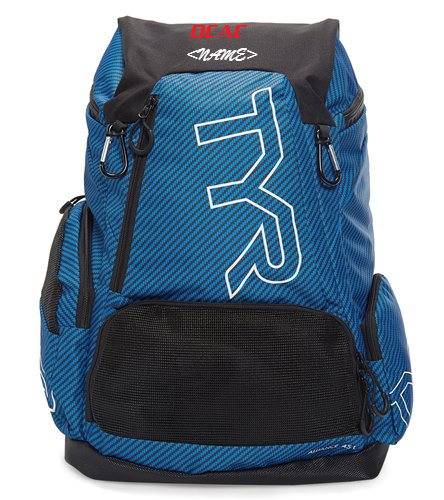 TYR Carbon 45L Backpack - TYR Alliance 45L Team Carbon Print Backpack