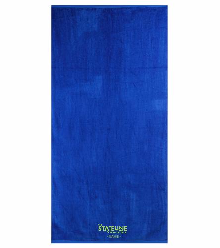 Stateline - Royal Comfort Terry Velour Beach Towel 32 X 64