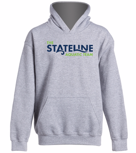 Youth Stateline -  Heavy Blend Youth Hooded Sweatshirt