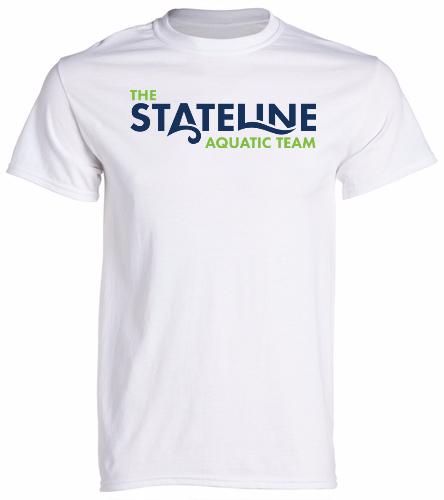 Stateline White - Heavy Cotton Adult T-Shirt