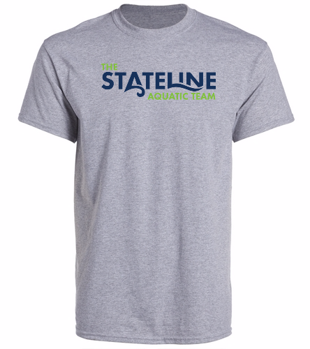 Stateline Grey - Heavy Cotton Adult T-Shirt