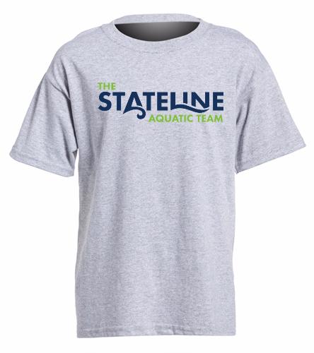 Stateline Grey - Heavy Cotton Youth T-Shirt