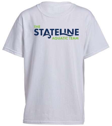 Stateline White - Heavy Cotton Youth T-Shirt