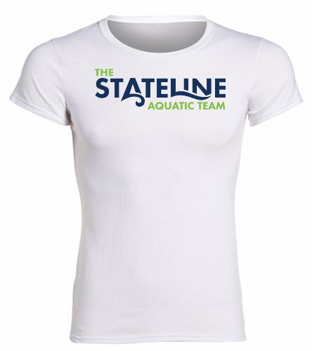 Stateline White -  Heavy Cotton Missy Fit T-Shirt