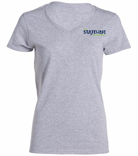 Stateline Grey -  Ladies V-Neck