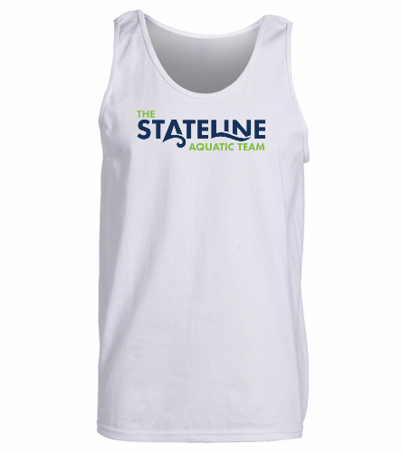 Stateline White -  Ultra Cotton Adult Tank Top