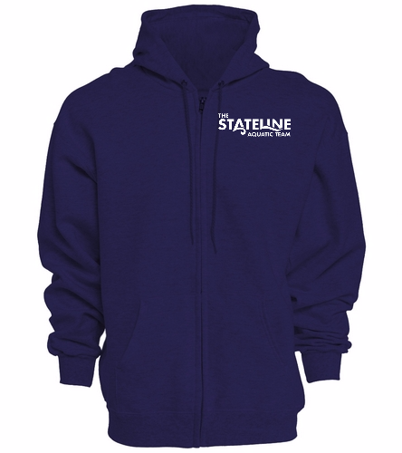Stateline Navy - Full Zip Hoodie