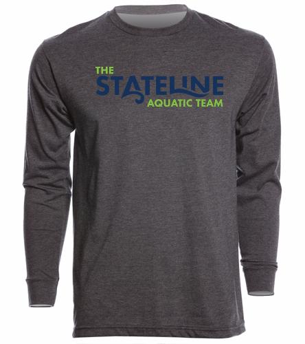 Stateline Grey - Unisex Long Sleeve Crew/Cuff