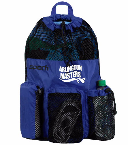 ARMS bag with logo - Sporti Equipment Mesh Backpack